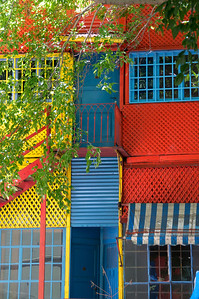 Leaves and Awning, La Boca