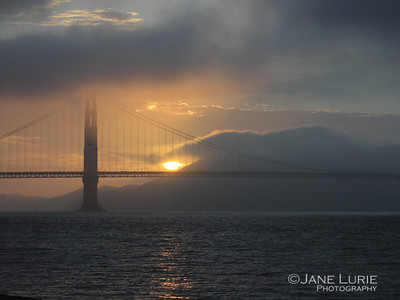 Sunset at the Golden Gate