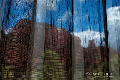 Curtains and Red Rocks