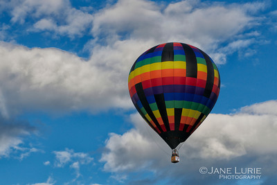 Balloonist with Pride