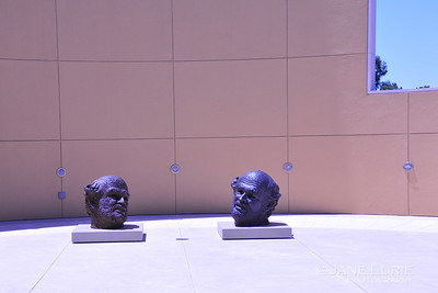 Two Heads Are Better, Robert Arneson