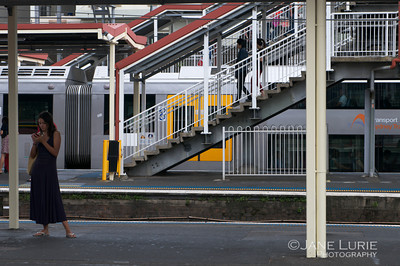 Train and Stairs, Redfern