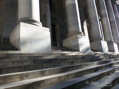 Columns and Stairs, Color, Adelaide