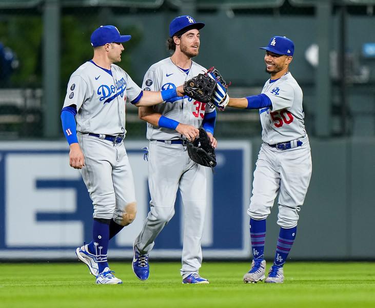 Dodgers at Rockies