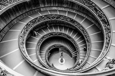 Bramante Staircase, Vatican
