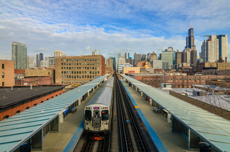 CTA Pink Line, Chicago