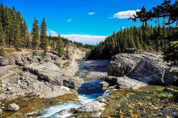Elbow Falls, Alberta