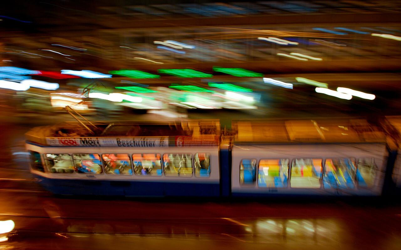 Zurich tram