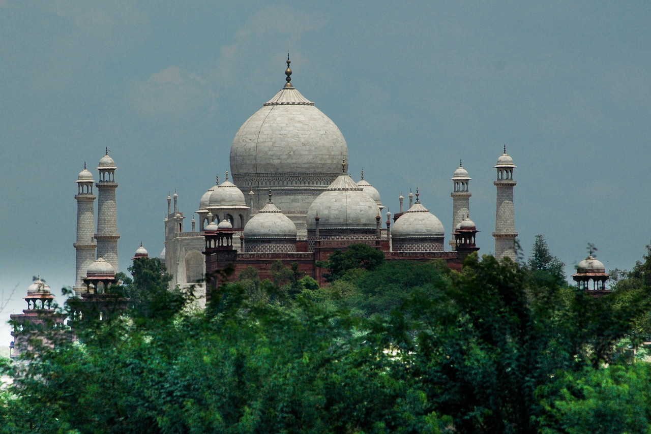 Another view of the Taj