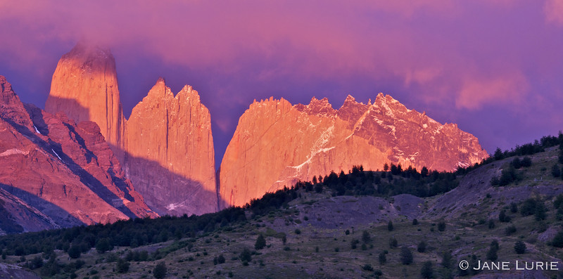 The Towers. Torres Del Paine National Park, Chile.