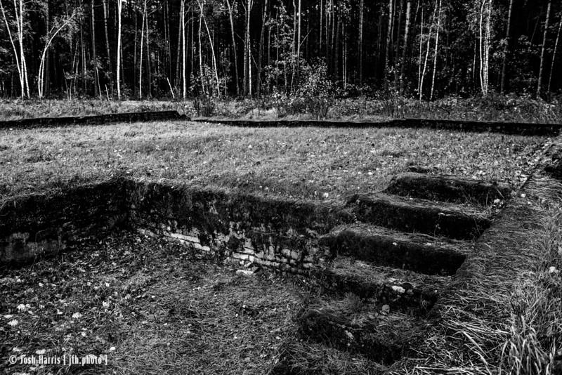 Lazarett (Delousing and Disinfection), Treblinka Labor Camp, Poland, October 2018.