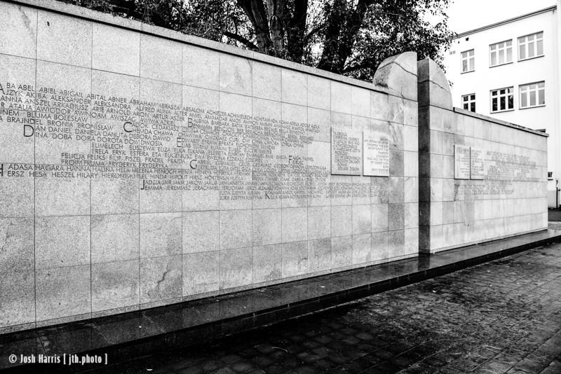Umschlagplatz, Collection Point for Jews Deported to Treblinka, Warsaw, October 2018.