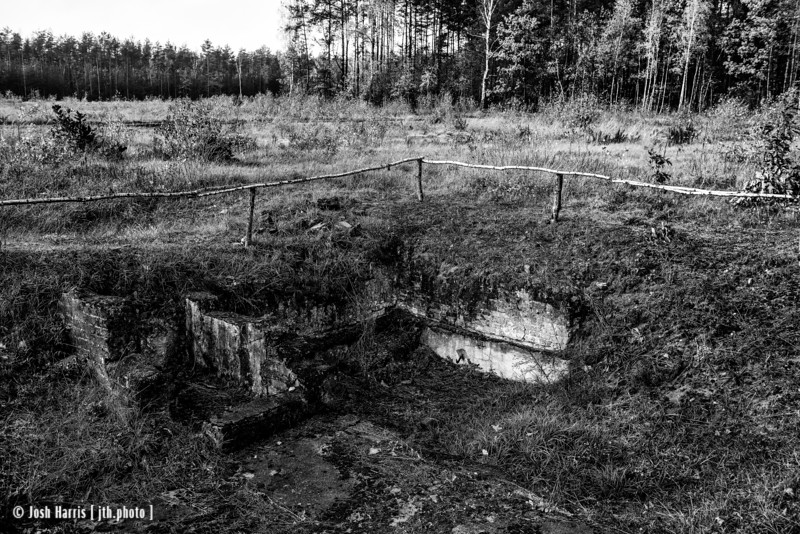 Punishment Bunker, Treblinka Labor Camp, Poland, October 2018.