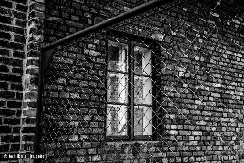 Train Entrance, Auschwitz II-Birkenau, Poland, October 2018.