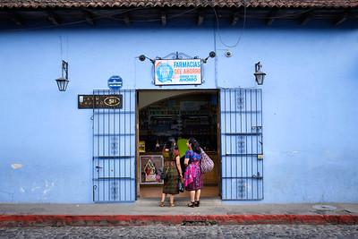 Antigua Guatemala street scene