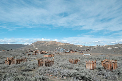 The Bodie Cemetery is interesting to walk through.  The success of the mine & town seems so distant when compared to all of the lives taken by this unforgiving location.