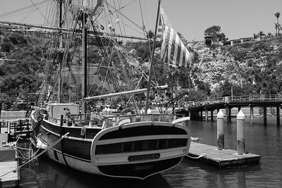Pilgrim confined to tight spaces in Dana Point Harbor