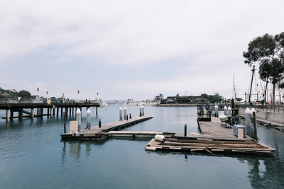 Where the Pilgrim used to reside for the past few decades in Dana Point Harbor.