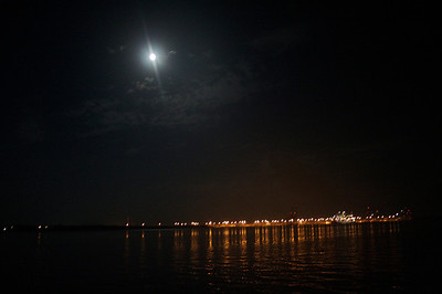 Moon Over Charleston/Mt. Pleasant I