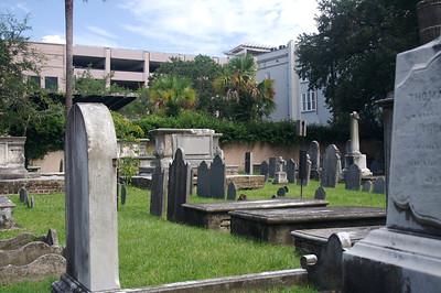 Graveyard at the Circular Church