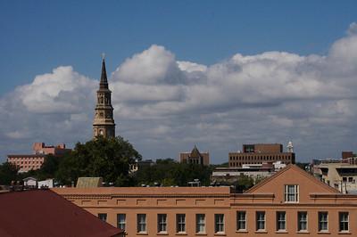 Charleston Skyline (Dark Exposure)