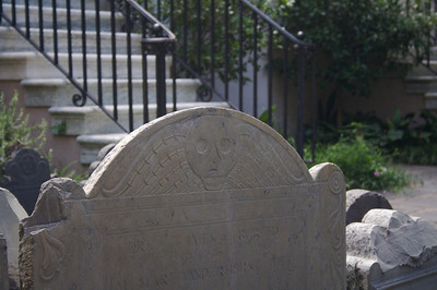 Headstone at the Circular Church