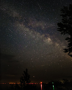 Milky Way over Saginaw Bay
