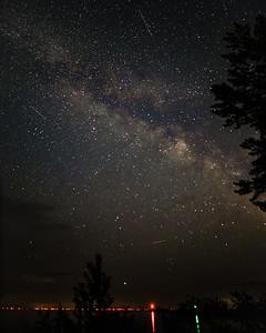 Milky Way over Saginaw Bay