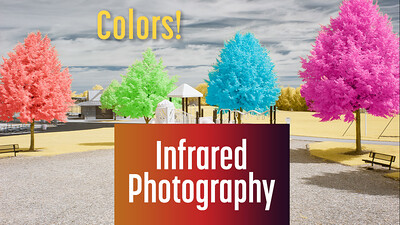 How to add multiple colors to infrared images?