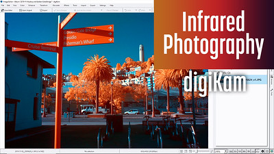 Review of digiKam to edit Infrared photos