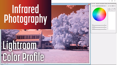 Creating a Lightroom color profile for Infrared images