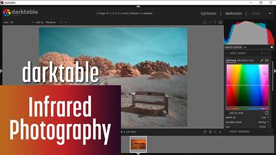 Darktable for editing Infrared photos