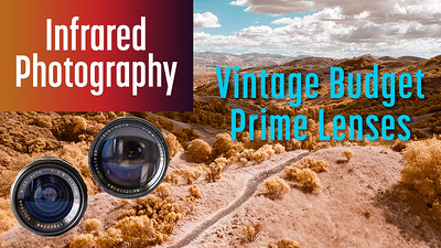 Infrared with Vintage Budget Prime Lenses