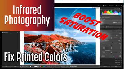 How to Fix Printed Colors in Color Infrared Photography