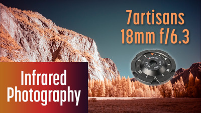 Ultra-thin cap lens for Infrared Photography