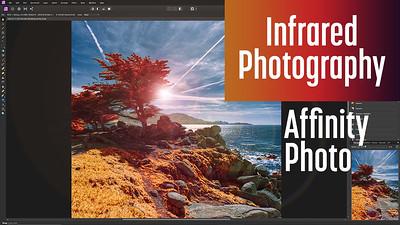 Infrared photo edit w/ Affinity Photo