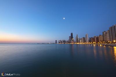 Sunrise Chicago Lake Shore Drive