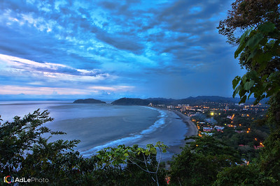 Cloudy Sunset over Playa Jaco - Jaco, Costa Rica