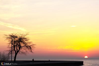 Sunrise Chicago