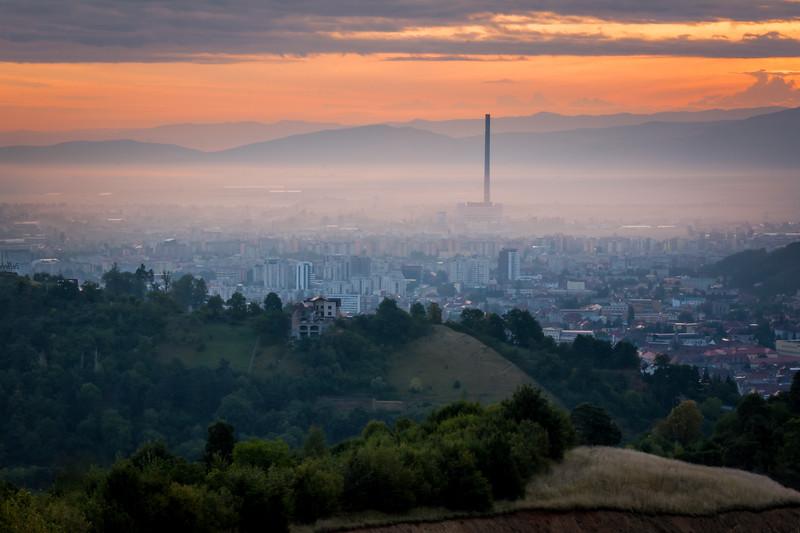Sunrise in Brasov