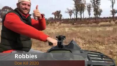 Robbies Doe Kill 2020
