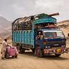 An undocumented returnee family returns to Afghanistan from Pakistan via the Torkham border crossing in Nangahar.<br /> <br /> Nangarhar, August 2016<br /> <br /> NRC/Jim Huylebroek