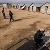 The courtyard of one of five elementary schools in the Gulan refugee camp.<br /> <br /> Khost, February 2017<br /> <br /> NRC/Jim Huylebroek