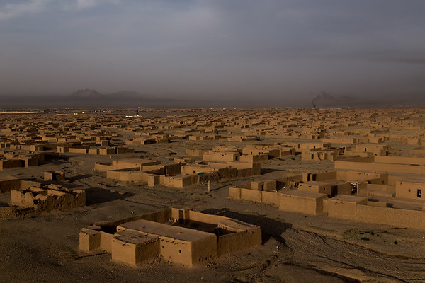 The Maslakh settlement for IDPs in Herat, Afghanistan. The majority of families living in Maslakh arrived between 1999 and 2002.<br /> <br /> Herat, May 2017<br /> <br /> NRC/Jim Huylebroek