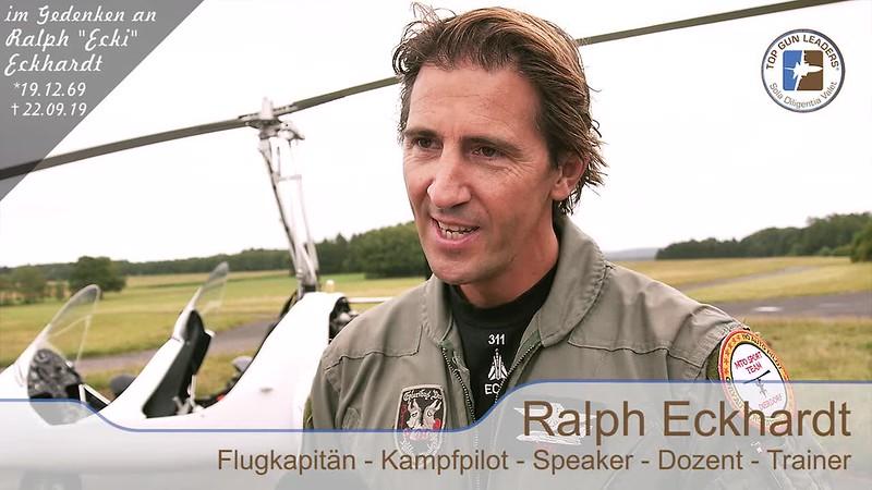 Top Gun Leaders - Soft Skills aus den besten Cockpits der Welt - Videointerview mit Ralph Eckhardt vom 10.08.2019 - von und mit Karrideo Image- und Eventfilmproduktion©®™