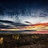 Evening Clouds over La Gomera