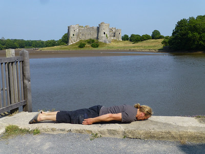 Carew Castle, Wales  Wales 2013 Face Down Tuesday