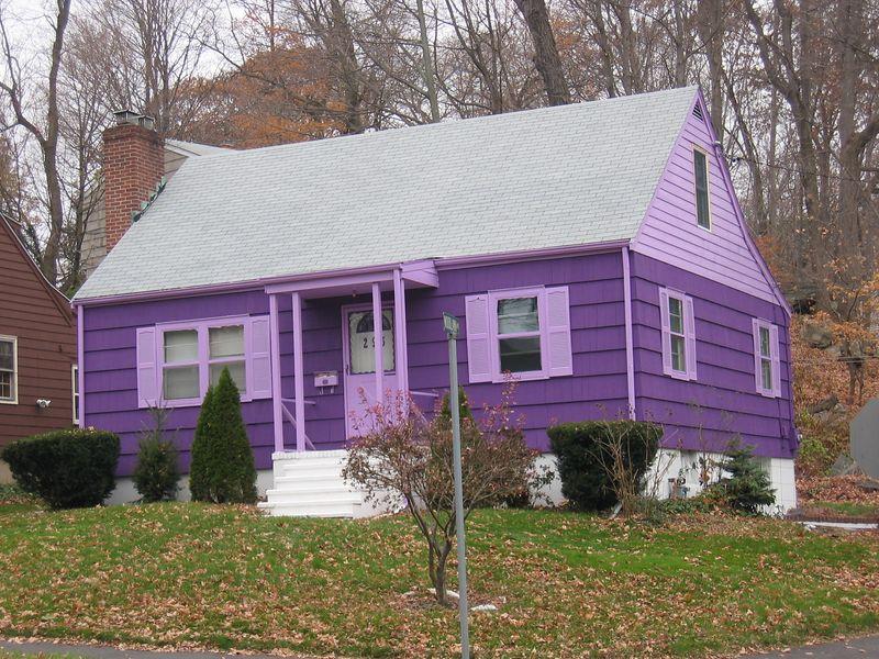 Purple House, Rowayton, CT