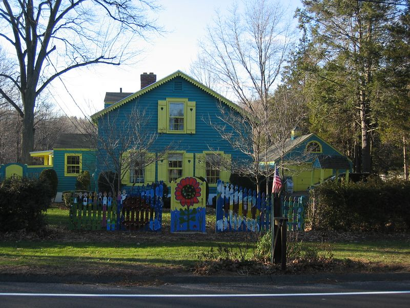 Turquoise House, West Hartford, CT