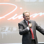 Head Coach Bobby Petrino addressed the guests at that event